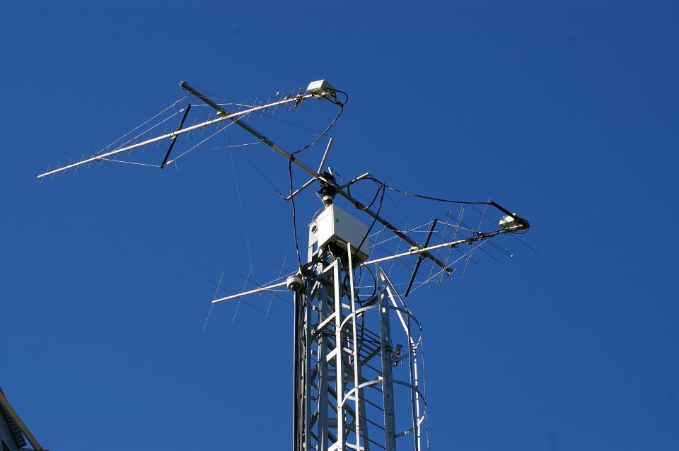 Viena iš antenų UAB ARCUS NOVUS teleporte.